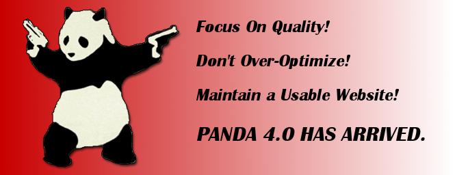 Panda 4.0 Has Arrived.