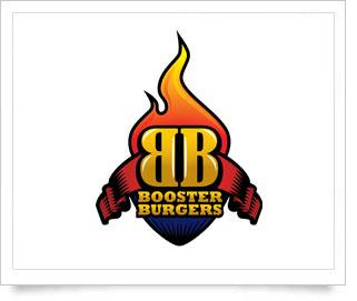Booster Burgers - Logo Design Service