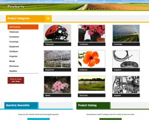 American Horticultural Supply Product Page Design