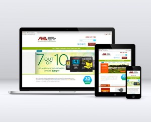 American Horticultural Supply Responsive Web Design