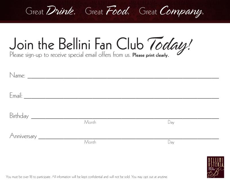 Bellini Social Media Branding