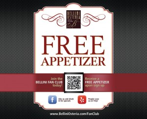 Bellini Social Media QR Code Design