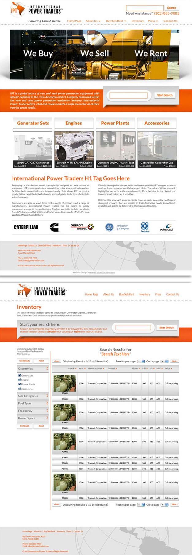 iPower Traders Website Design