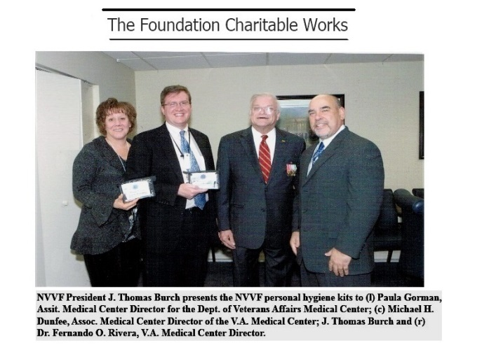NVVF - The Foundation Charitable Work