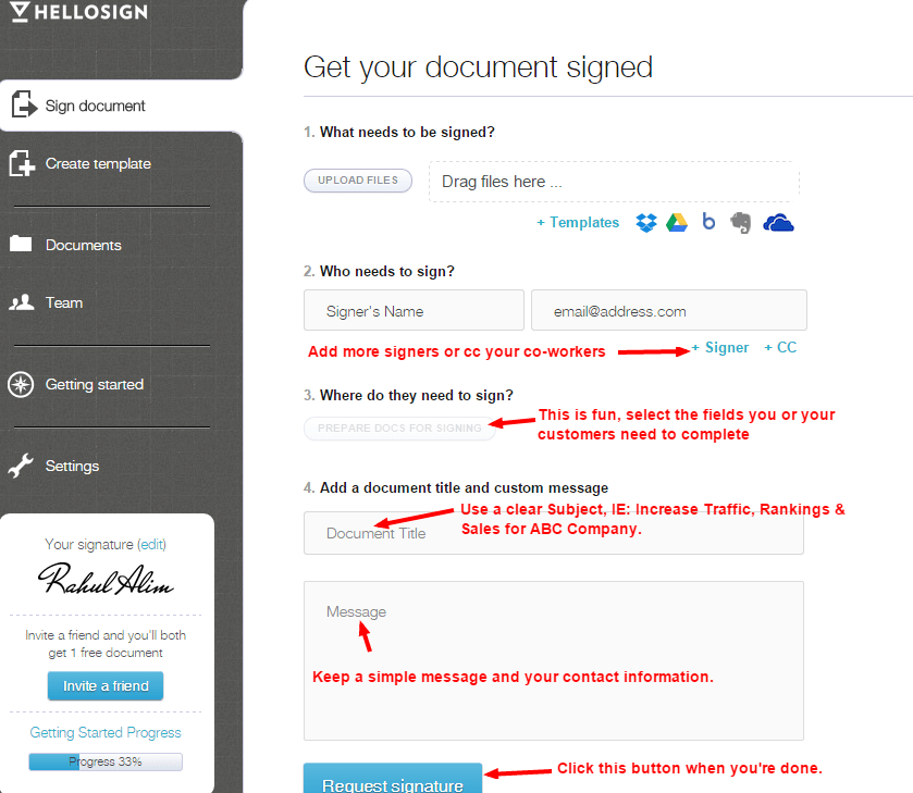 How To Use Electronic Signatures