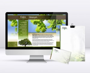 Oaks Financial Management Branding & Design