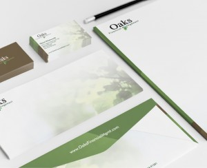Oaks Financial Management Corporate Branding Design