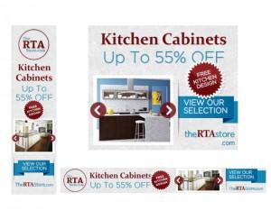 The RTA Store Web Banner Design