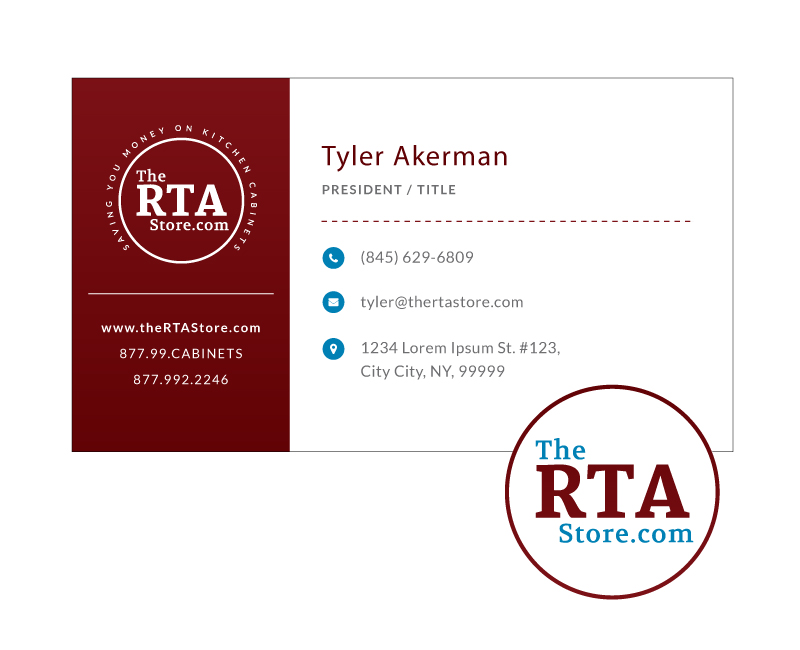 The RTA Store Business Card Design