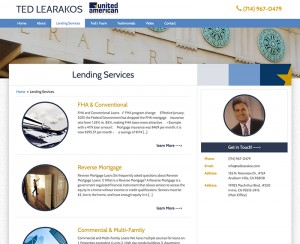 Ted Learakos – Web Design