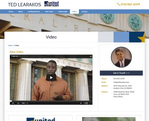 Ted Learakos Video Page