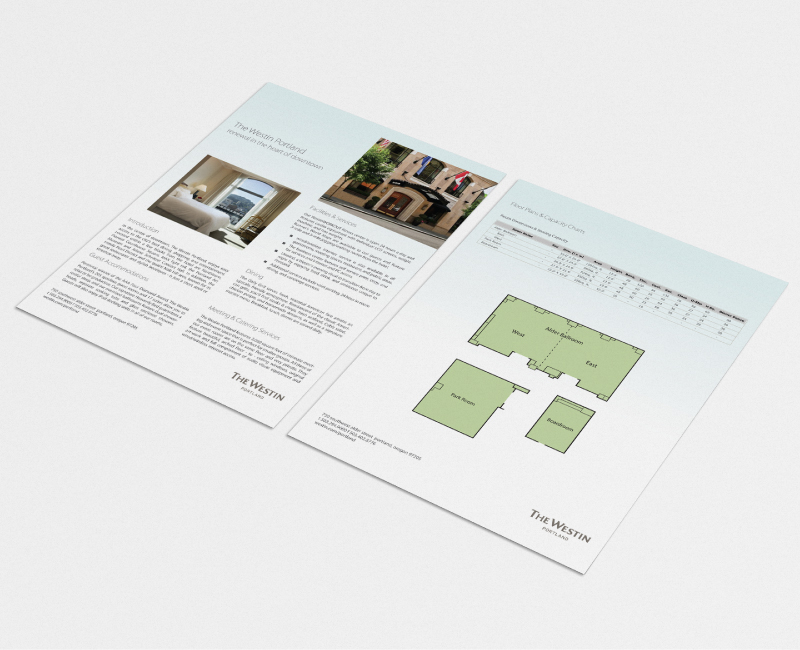 Westin Hotel Marketing Design