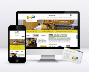 IMP Corporation Website Redesign