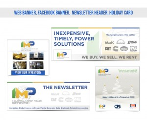 IMP Corporation Marketing Collateral Design