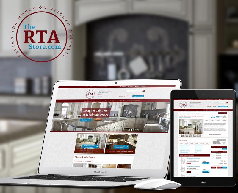 The RTA Store Website Design