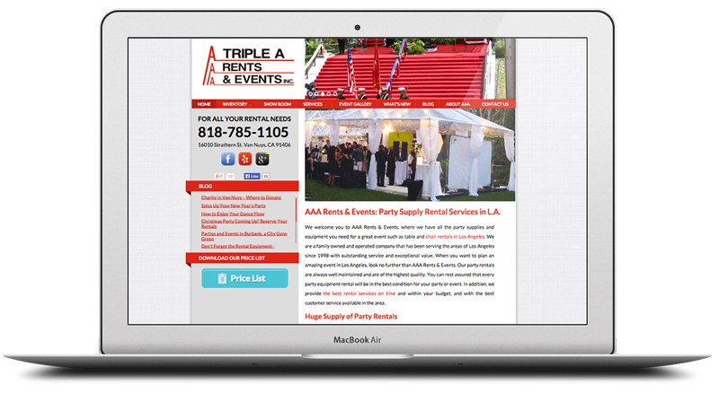 Case Study: The Party Equipment Rental Company