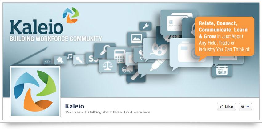Kaleio Facebook Skin