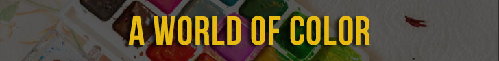 A World of Color - Banner Ad Design