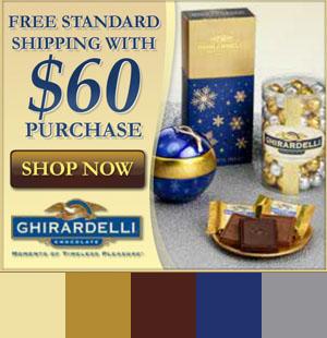 Ghirardelli Banner Ad Color Palette