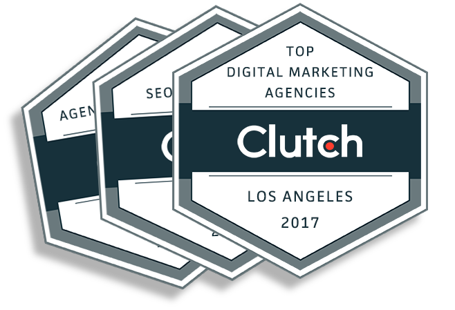 Custom Creatives is a 2017 Leading Los Angeles Agency on Clutch!