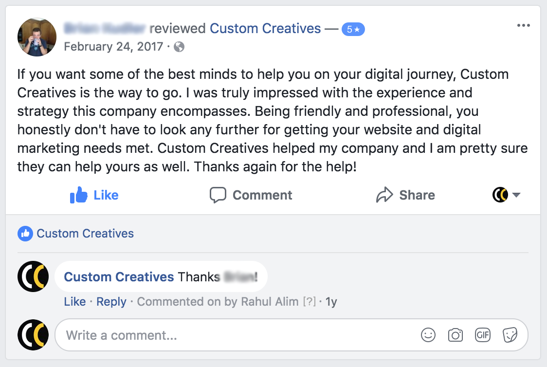Custom Creatives Review