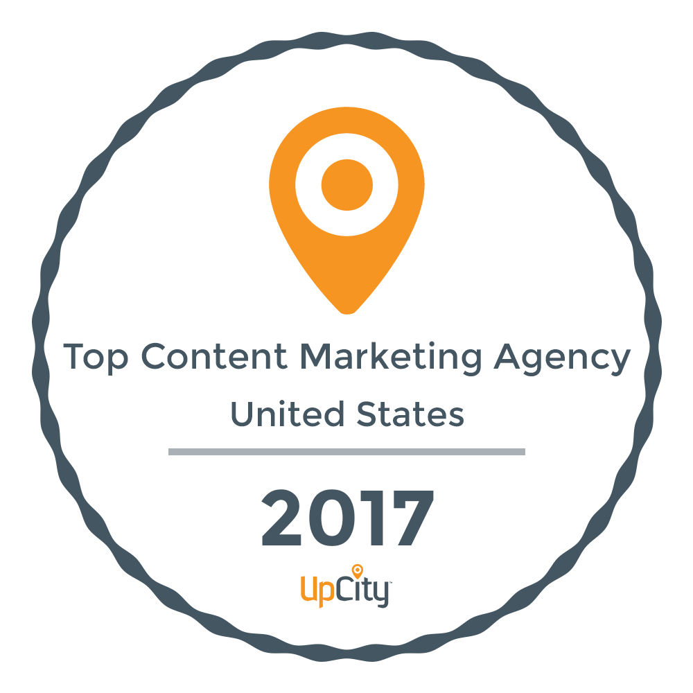 Custom Creatives Top Content Marketing Agency 2017 - UpCity