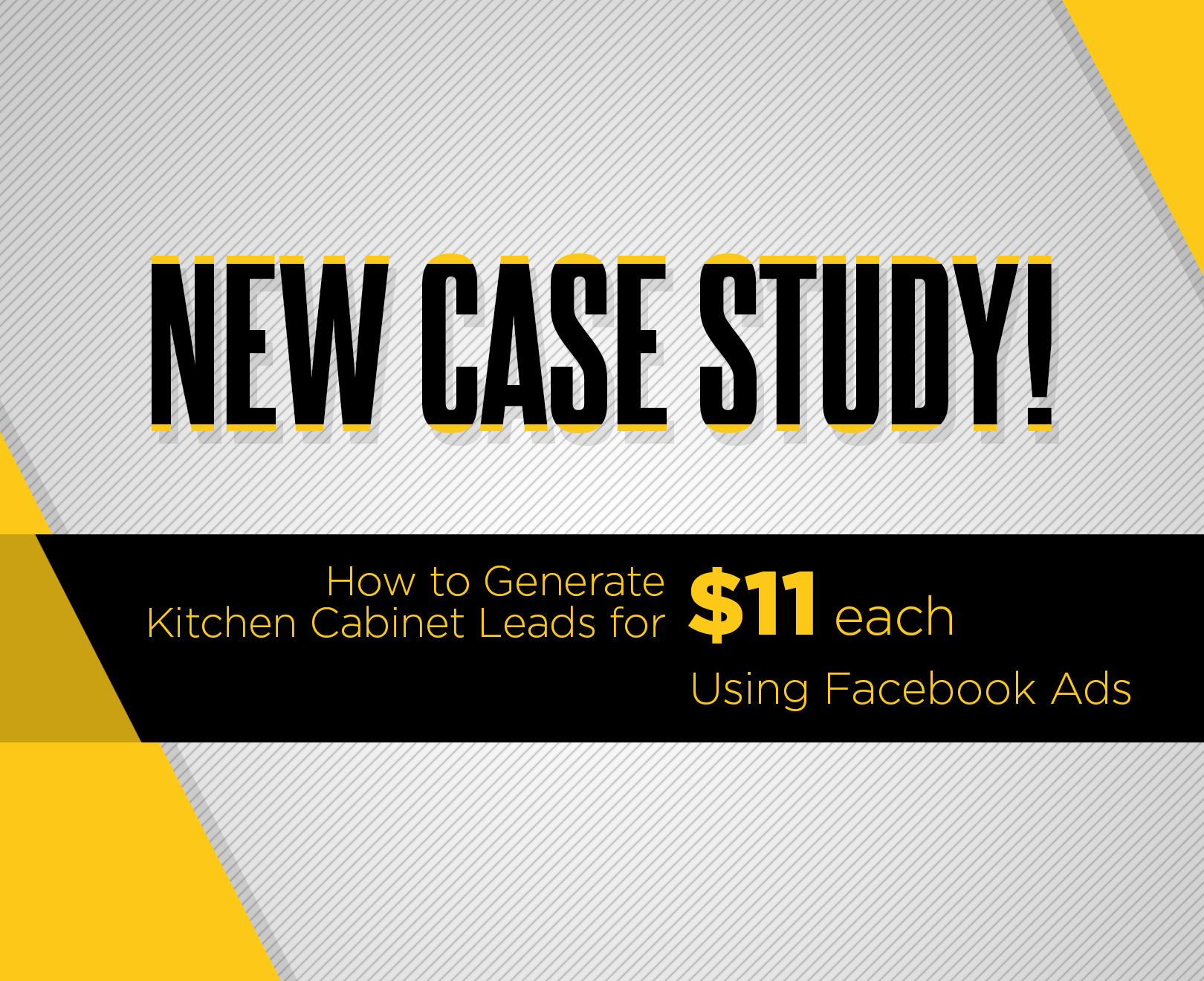 How We Turned 736 Into Over 43 000 In Kitchen Cabinet Sales Using Facebook Ads Case Study Custom Creatives Blog